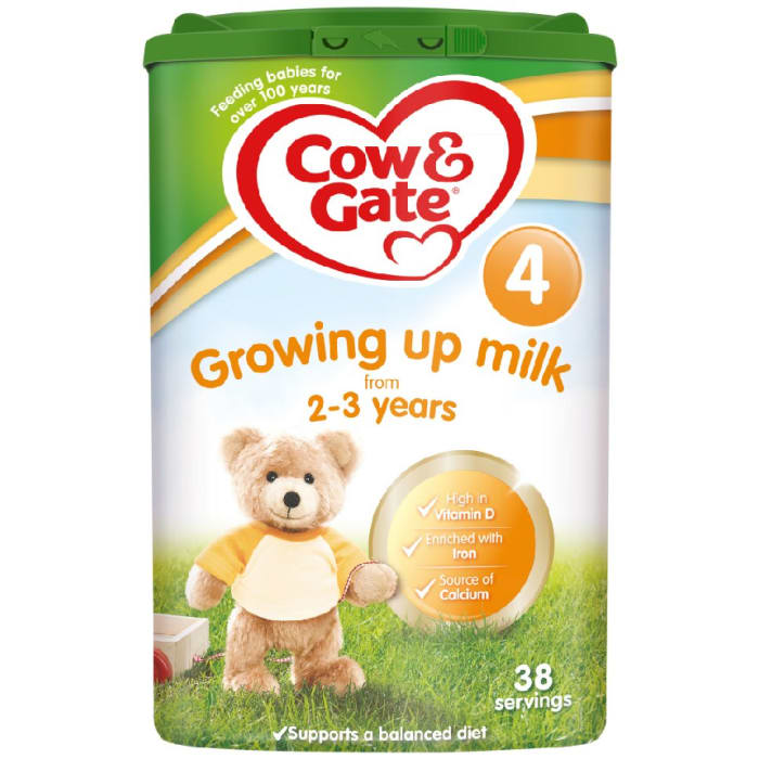 Cow & Gate Growing Up Milk Stage 4 from 2-3 Years 800 Grams