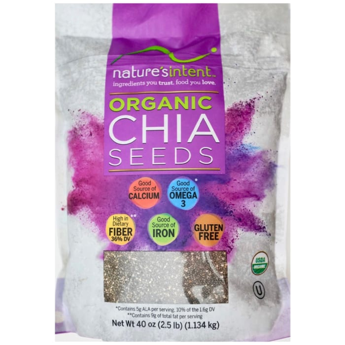 Nature's intent organic Chia seeds