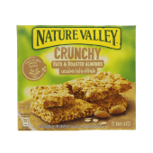 Nature Valley Crunchy Oats & Roasted Almonds 12 Bars (6 x 12)