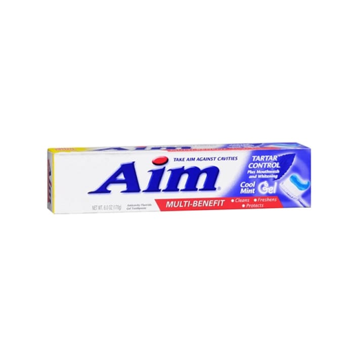 Aim Multi-Benefit Tartar Control Cool Mint Gel