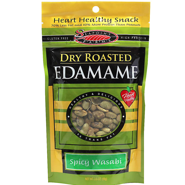 Seapoint Farms Dry Roasted Edamame Wasabi