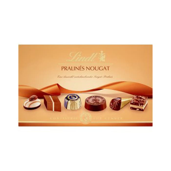 Lindt Pralines Nougat Chocolate