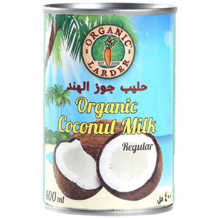 Organic Larder Coconut Milk Regular 400ml