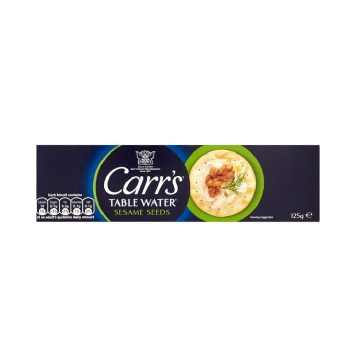 Carrs  Table Water Sesame Seeds Biscuit