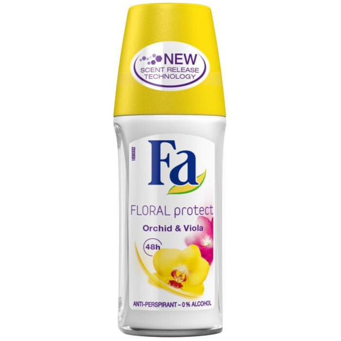 Fa Roll On Floral Protect 50ml