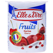 Elle & Vire Cherry Fruit Yoghurt
