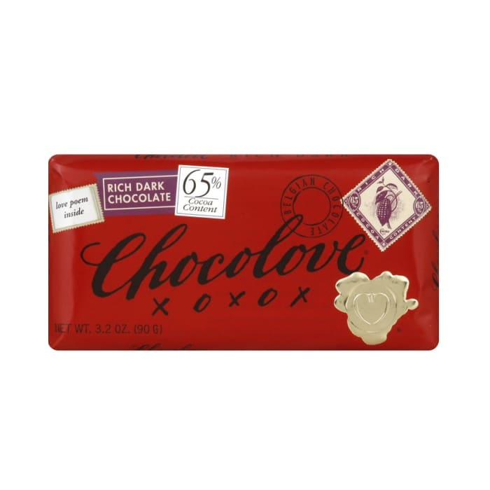 Chocolove Chocolate 65% Rich Dark Bar