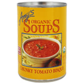 Amy's Organic Soup Chunky Tomato Bisque 411g