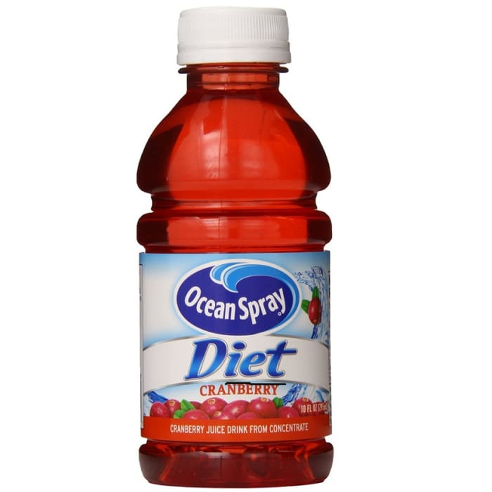 Ocean Spray Juice Cranberry Diet Bottle