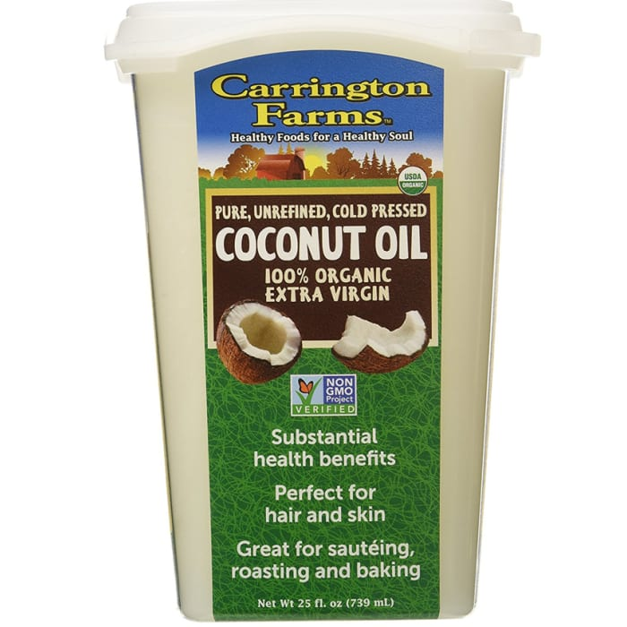 Carrington Farms Organic Coconut Oil