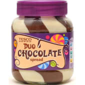 Tesco Duo Chocolate Spread 400g