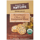 Back to Nature Organic Rosemary Olive Oil Strong Ground Wheat 170g