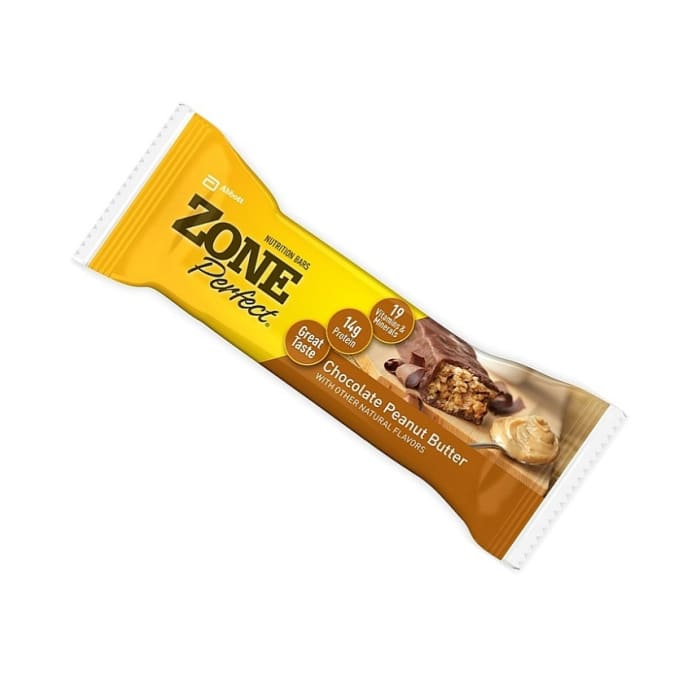 Zone Perfect Cereal Bars Nutrition Chocolate Butter