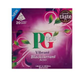 PG TIPS Pg Tips Blackcurrant Herbal Tea