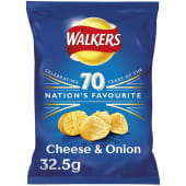 Walkers Chips Cheese & Onion Crisps 32.5g
