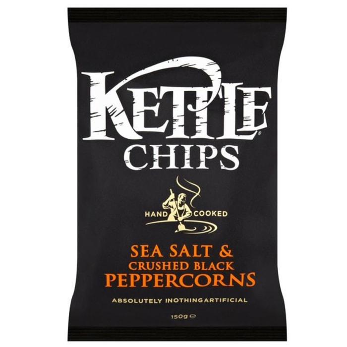 Kettle Sea Salt And Black Pepper Corns Chips
