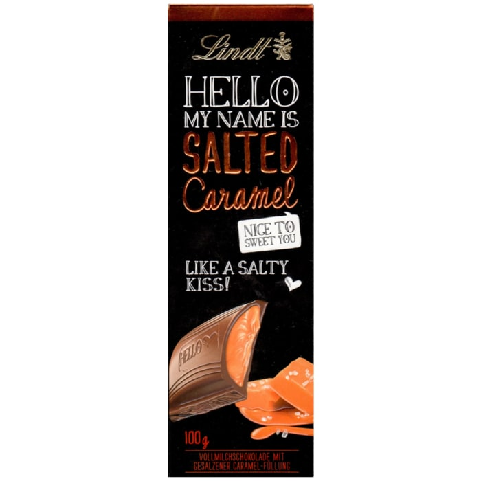 Lindt Hello Chocolate Salted Caramel