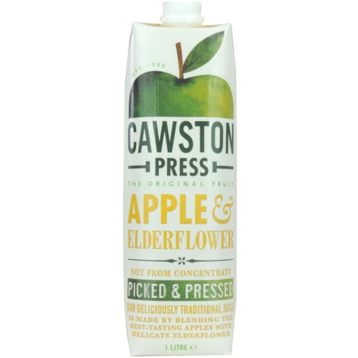 CawSton Apple & Elder Flavor Juice