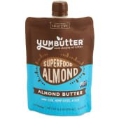 YumButter Protein Almond Butter with Plant Protein & Probiotics 176 Grams