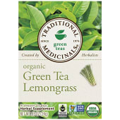 Traditional Medicinals Organic Lemongrass Green Tea