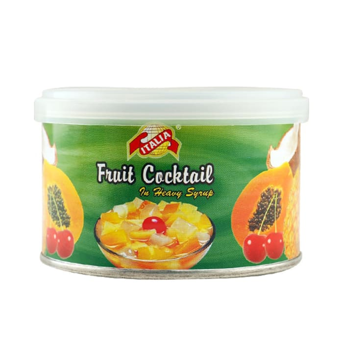 Italia Fruit Cocktail Syrup Tin 234 g