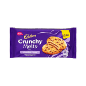 Cadbury Crunchy Melts Chocolate Centre Chocolate Chip Cookies 156 Grams