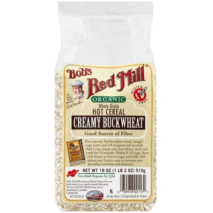 Bobs Red Mill Organic Creamy Buck Wheat Hot Cereal