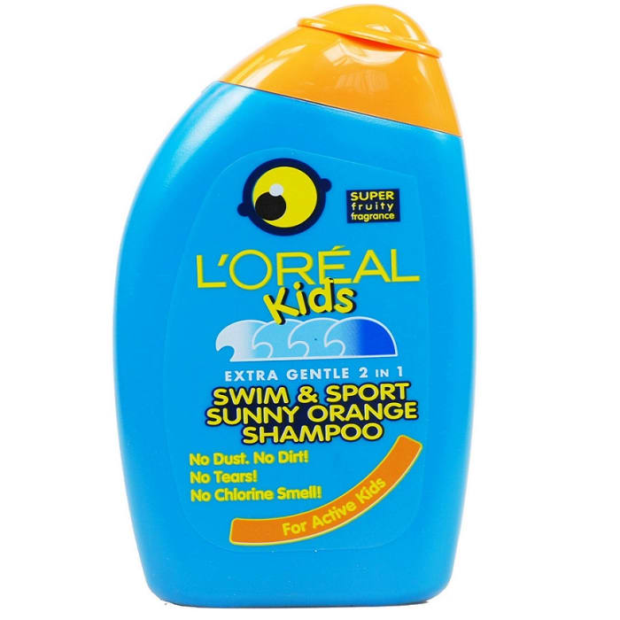 Loreal  Shampoo Kids Swim & Sport Sunny Orange