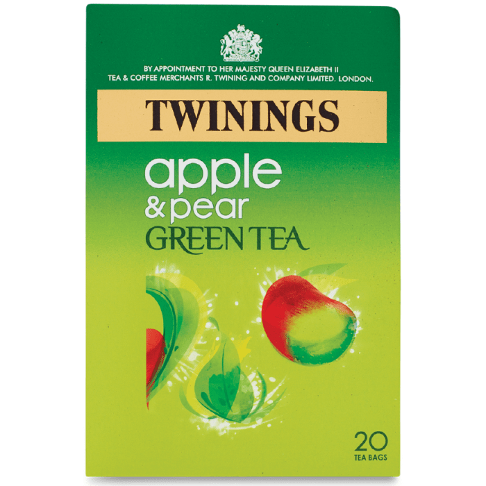 Twinings Apple & Pear Green Tea