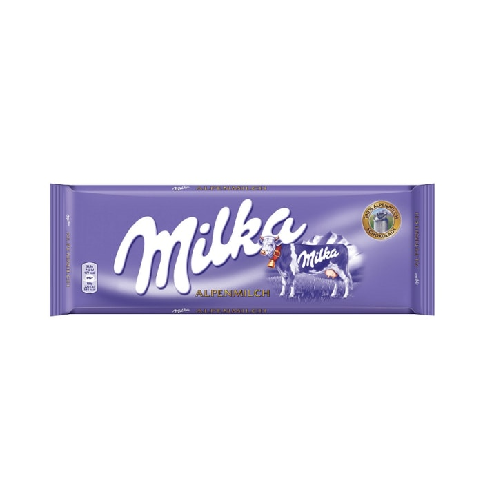 Milka Chocolate Alpine Milk