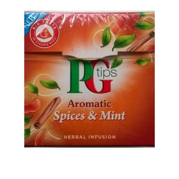 PG TIPS Pg Tips Aromatic Spice & Mint Herbal Tea