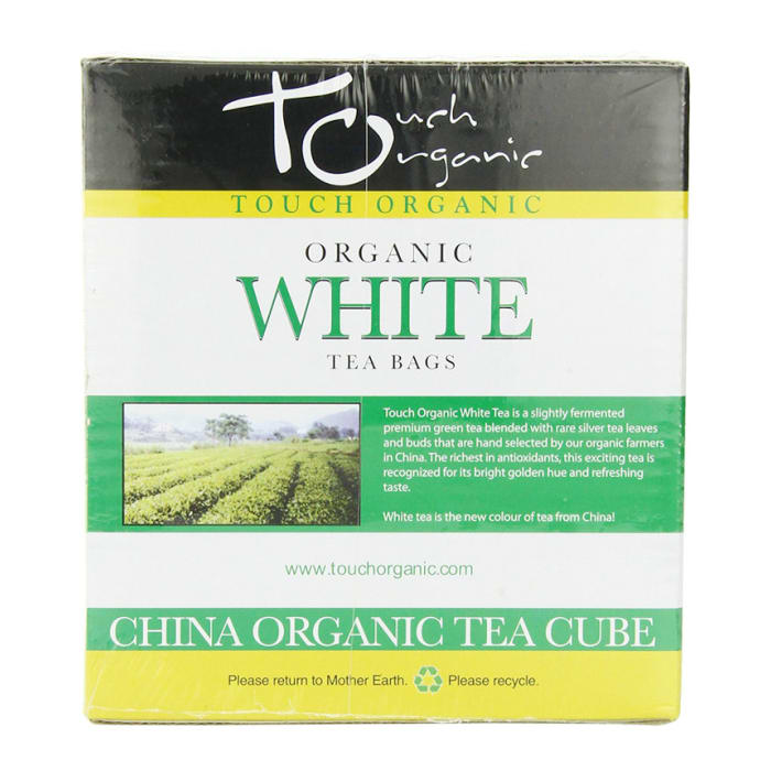Touch Organic White Tea Cube 100 Count 200g
