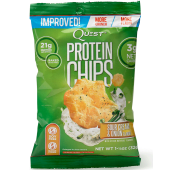 Quest Protein Chips Sour Cream & Onion Flavor