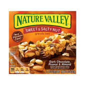 Nature Valley Sweet & Salty Nut Dark Chocolate, Peanut & Almond Bars