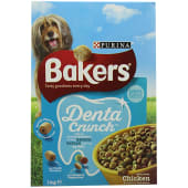 Purina Bakers Dog Food Denta Crunch With Chicken 1kg
