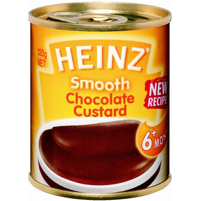 Heinz Baby Food Smooth Chocolate Custard