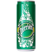 Perrier Sparkling Natural Mineral Water Can