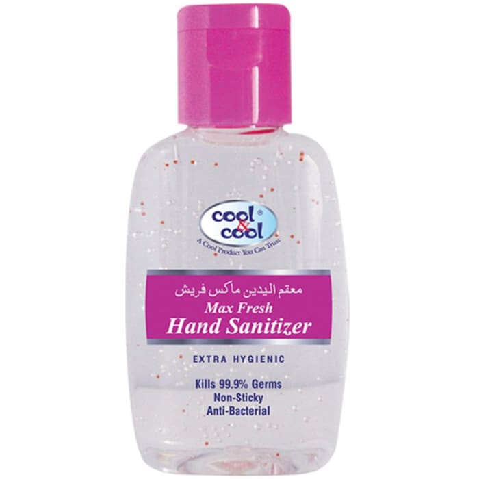 Cool & Cool Max Fresh Hand Sanitizer Gel