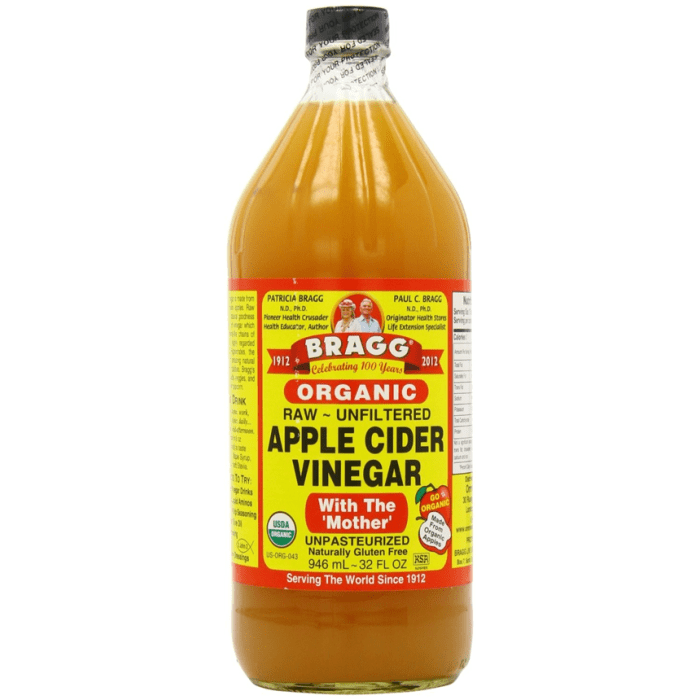 Bragg Organic Raw Unfiltered Apple Cider Vinegar (Imported from USA)