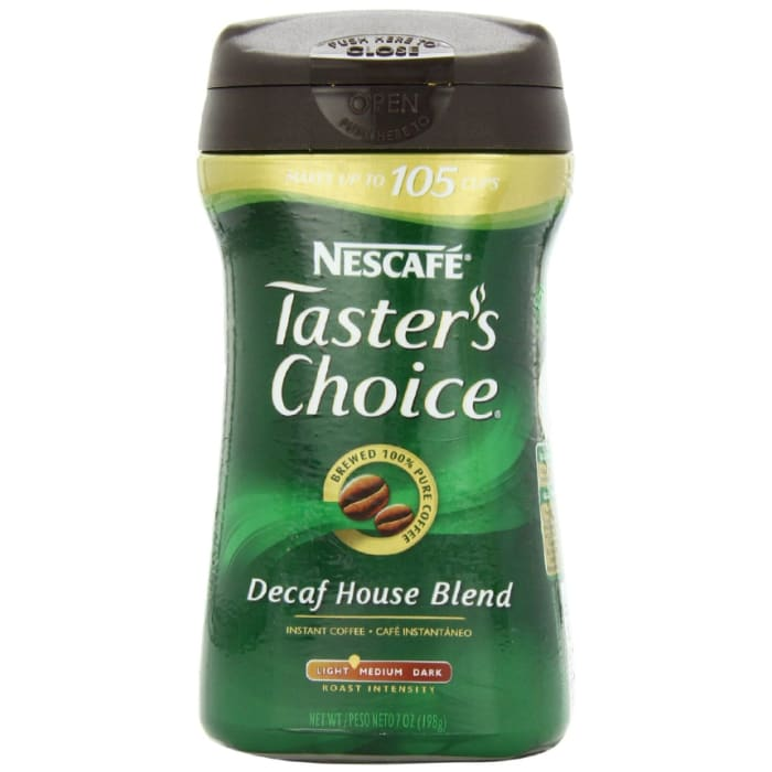 Nescafe  Coffee Tasters Choice Decaffeinated