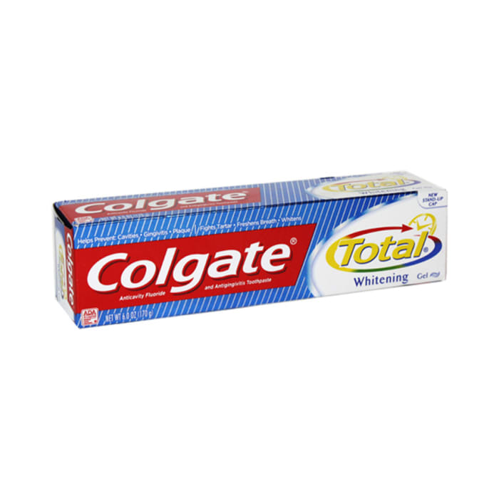 Colgate Tooth Paste Usa Total Whitening Gel 170g
