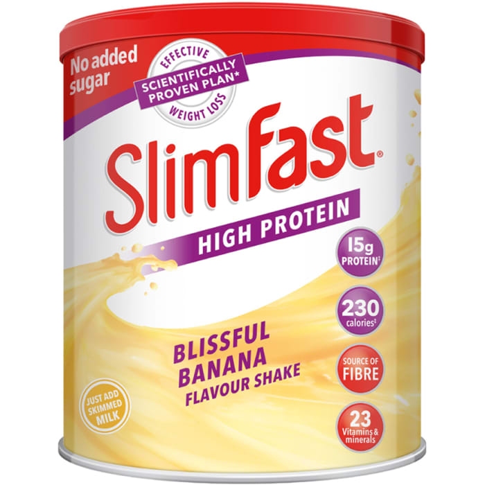 Slim Fast Blissful Banana Powder Shake