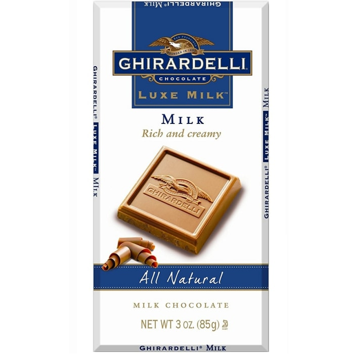 Ghirardelli Luxe Milk Chocolate Bar