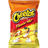Cheetos Crunchy Flamin Hot Cheese Flavored Snacks