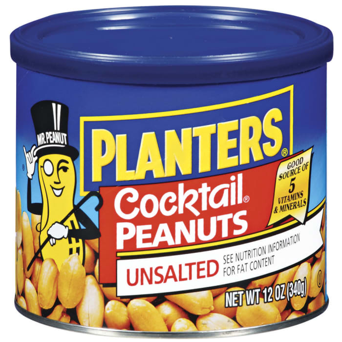 Planters   Cocktail Peanuts 340g