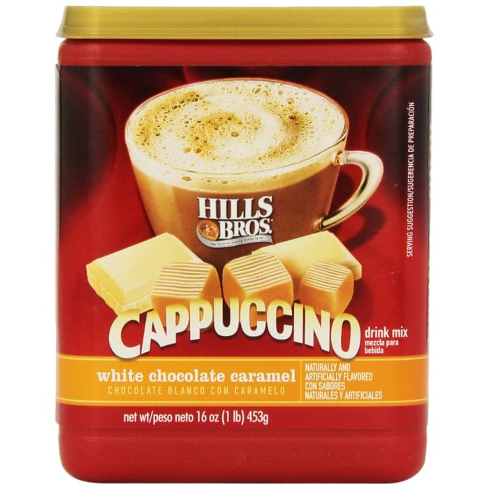 Hills Bros White Chocolate Caramel Cappuccino