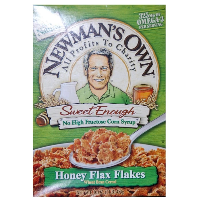 Newman's Own Cereal Honey Flax Flakes