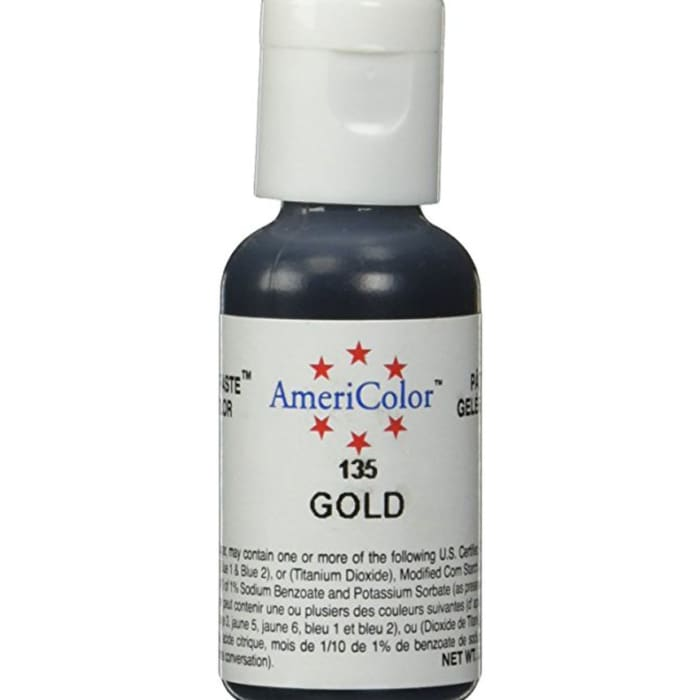 AmeriColor Gold Food Color