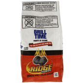Grill Time Charcoal Briquets Ridge Charcoal