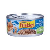 Friskies Cat Food Ocean Whitefish & Tuna Dinner Classic Pate